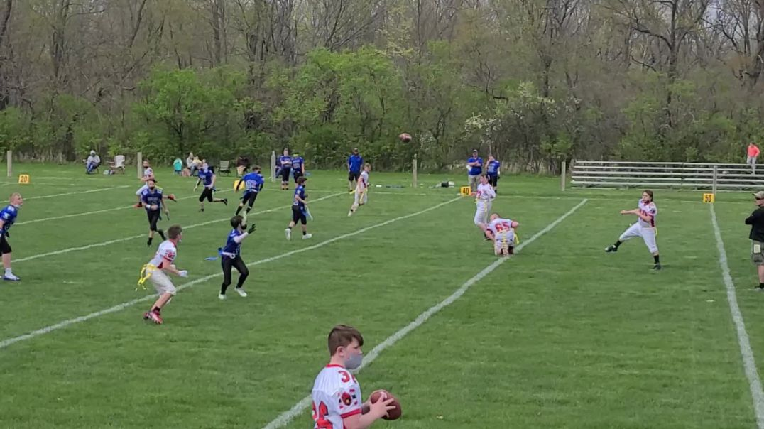Kevin's 1st Touchdown Pass of the Season