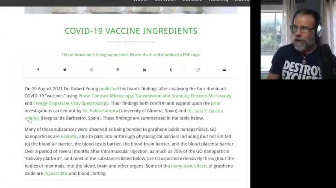 MUST SEE! VACCINE INGREDIENT LIST IDENTIFIED & EXPOSED!! GUESS WHATS IN EVERY ONE